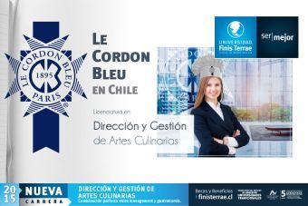 [Nuevas Carreras] En alianza con Le Cordon Bleu, la U. Finis Terrae impartirá Dirección y Gestión de Artes Culinarias