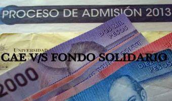 ¿CAE o Fondo Solidario: a cuál crédito postular?