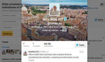 Lo que faltaba, ¡el Papa tiene Twitter!