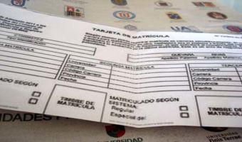 Proceso de admisión 2013: Hoy finaliza período de matrículas