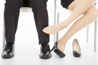 Romances de oficina: Un Perdedor, Un ganador
