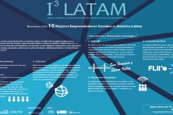 I3 Latam busca a los 10 mejores emprendedores de América Latina