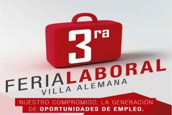 Participa en la tercera Feria Laboral de Villa Alemana