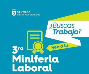 Participa en la Tercera Miniferia Laboral de la Municipalidad de Santiago