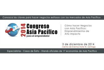 Congreso Asia Pacífico 2014 para el emprendedor
