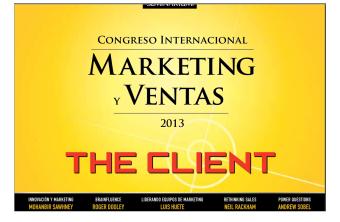 Congreso internacional de Marketing y ventas