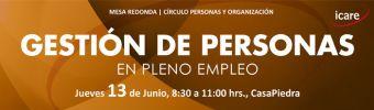 Charla ICARE - Gestión de Personas en Pleno Empleo