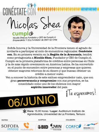 Conéctate Con...Nicolas Shea