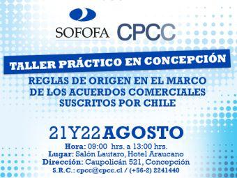 Taller Práctico en Concepción: Reglas de Origen en el Marco de los Acuerdos Comerciales Suscritos por Chile