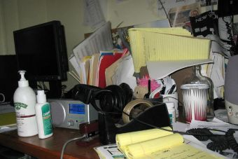 ¿Cómo lidiar con el desorden en el trabajo?