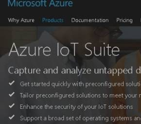 Microsoft Azure IoT Suite cover image