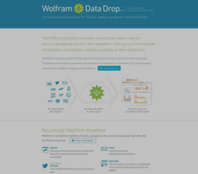 Wolfram Data Drop cover image