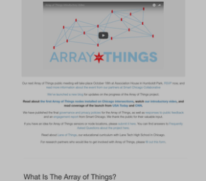 Array of Things cover image