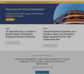 Symantec cover image