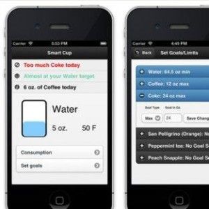 App interface for  Drinke