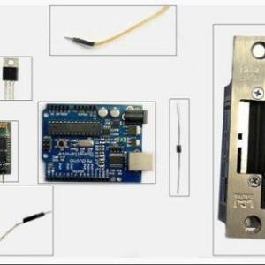Prototype of  Android and Arduino Wireless Door Lock