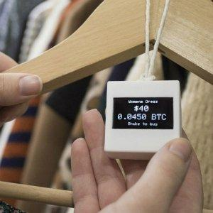 Bitcoin Retail Price Tags: BitTag  in action