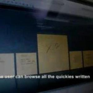Quickies Digital Post-its website screenshot