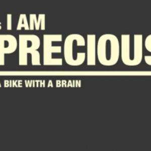 I am precious logo