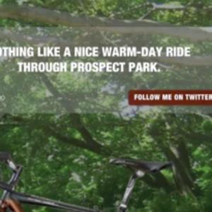 Screenshot of Bike w/ brain