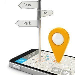 App interface for  Hi-Park