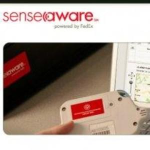 Fedex Senseaware website screenshot