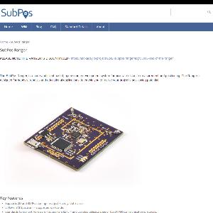 SubPos Ranger product shot