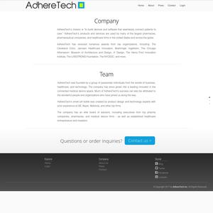 Adheretech About