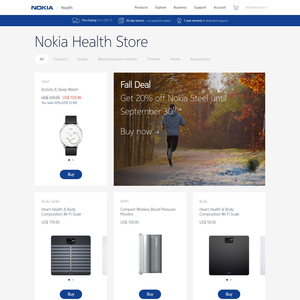 Withings Health Store