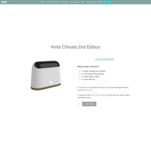 Ambi Climate Product