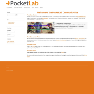 Pocketlab Support