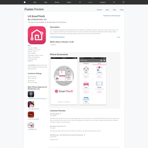 LG SmartThinQ Mac App