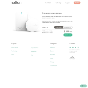 Notion Product