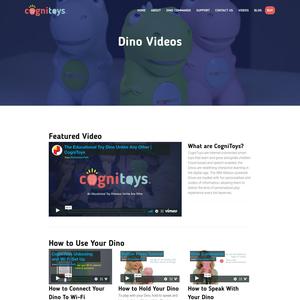 CogniToys Dino Videos