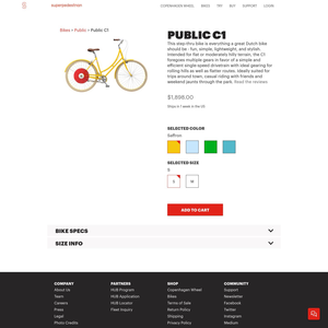 Copenhagen Wheel Product