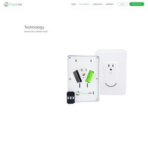 FreshAir Sensor Technology