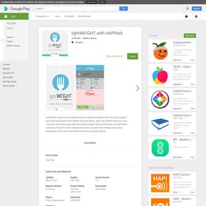 HAPIfork App