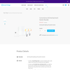 Samsung SmartThings Product