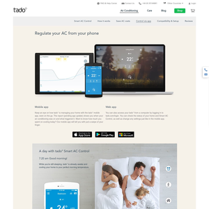 Tado Heating Air Conditioning App