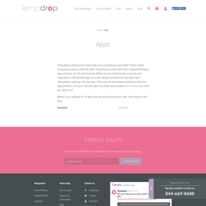 Tempdrop App