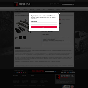 Roush Active Exhaust Products