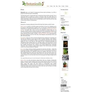 Botanicalls About