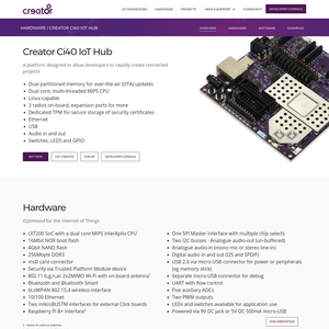 Creator Ci40 Platform