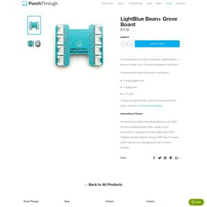 LightBlue Bean Plus Product