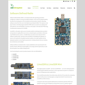 LimeSDR Product