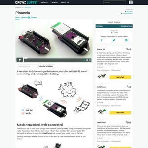 Pinoccio Wireless Microcontroller Product