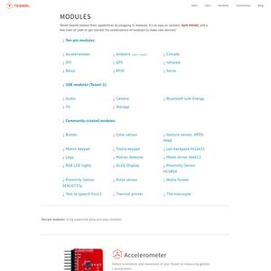 Tessel Modules