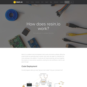 Resin.io How it works