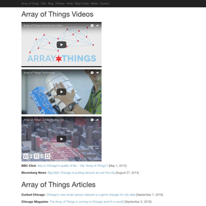 Array of Things Media