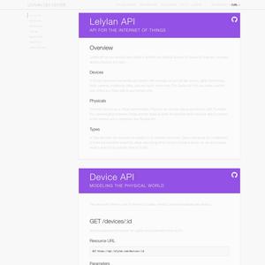 Lelylan API